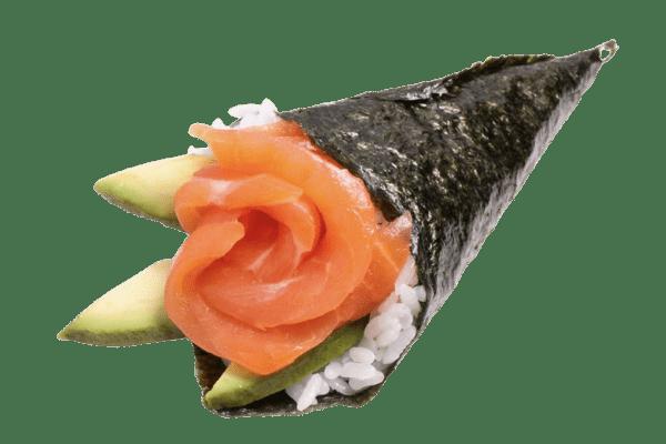 temaki sake temaki sushi