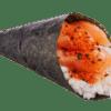 temaki spicy salmone sushi